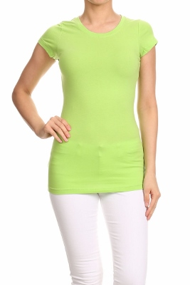 LoveSweet Basic T-shirts T-001-Lime